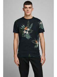 Jack & Jones T-shirt JPRHOLIDAY BLA. TEE SS CREW NECK 12170985 Black/REG FIT