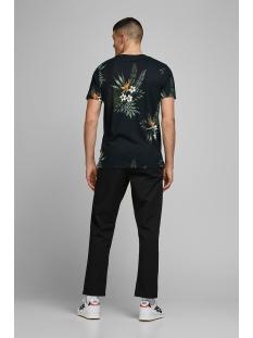 jprholiday bla. tee ss crew neck 12170985 jack & jones t-shirt black/reg fit