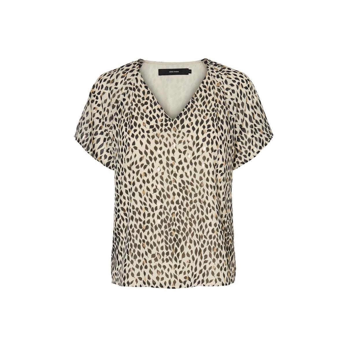 vmpenny s/s top wvn 10231205 vero moda t-shirt birch/penny