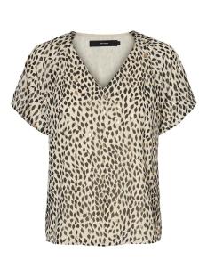 Vero Moda T-shirt VMPENNY S/S TOP WVN 10231205 BIRCH/PENNY