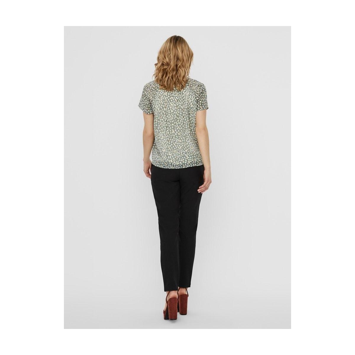 vmpenny s/s top wvn 10231205 vero moda t-shirt laurel wreath/penny