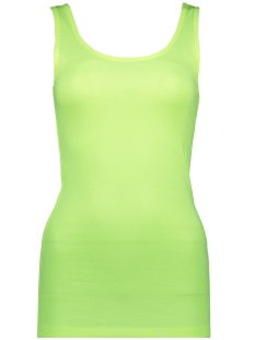 Only Top ONLLIVE LOVE LIFE TANK TOP NOOS 15095808 NEON YELLOW