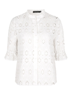 Ydence Blouse KRIS TOP EMBROIDERY WHITE
