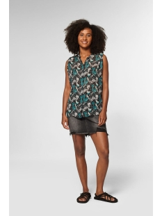 holly top s20 6 4102 circle of trust blouse jungle