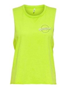 Only Top ONLLUCY LIFE S/L VEGAS TOP BOX JRS 15209370 ACID LIME/REBILLION