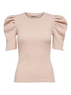 Only T-shirt ONLTENNA 2/4 PUFF TOP JRS 15219652 CLOUD DANCER