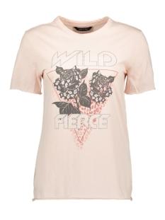 Only T-shirt ONYJENNY S/S REG TOP JRS 15203207 Lotus/WILD FIERCE