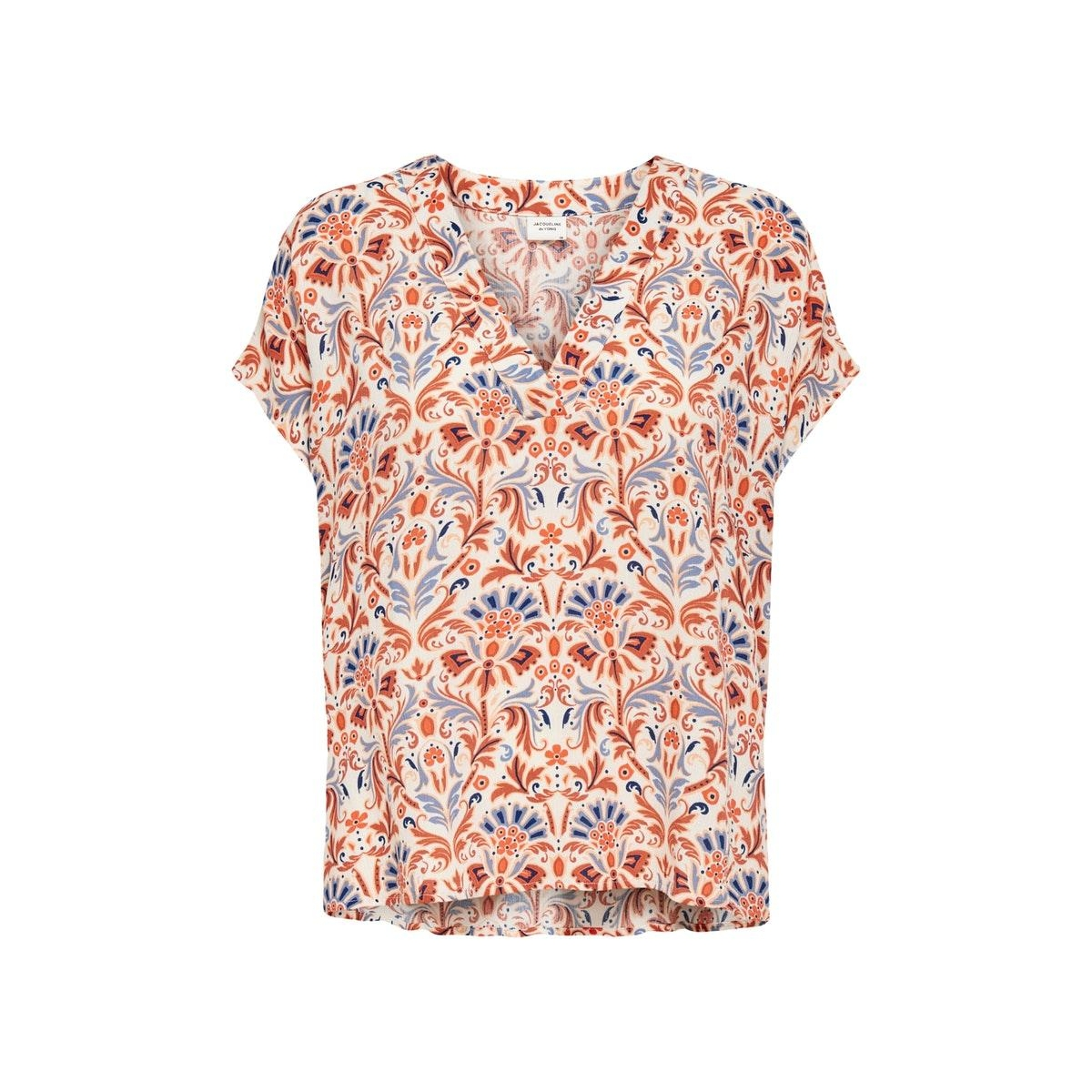 jdycaro s/s top wvn 15208037 jacqueline de yong t-shirt whisper pink