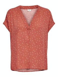 Jacqueline de Yong T-shirt JDYCARO S/S TOP WVN 15208037 BRUSCHETTA