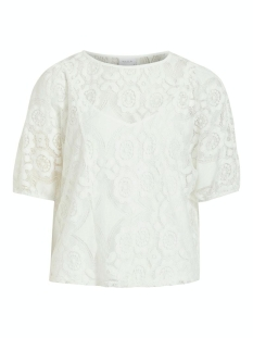 Vila T-shirt VIHULTA 2/4 TOP 14061322 Cloud Dancer