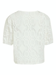 vihulta 2/4 top 14061322 vila t-shirt cloud dancer
