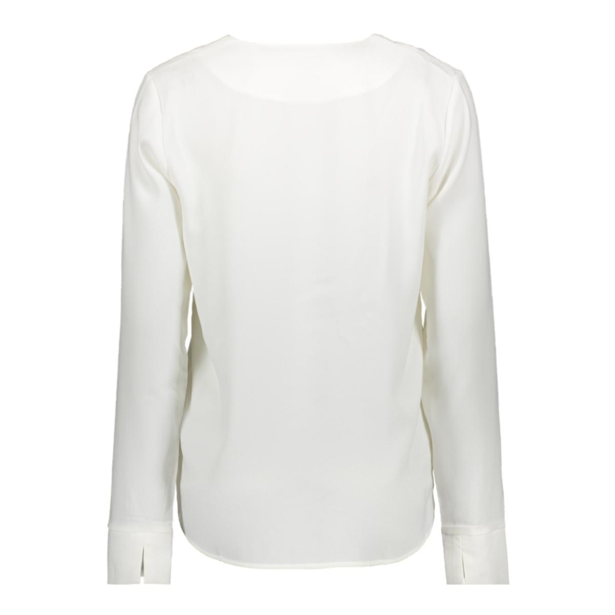 vilaia l/s v-neck top - fav 14053372 vila blouse cloud dancer