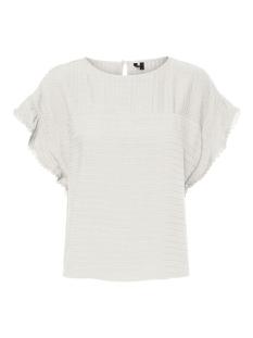 vmsiff sl crop top wvn 10231784 vero moda t-shirt snow white