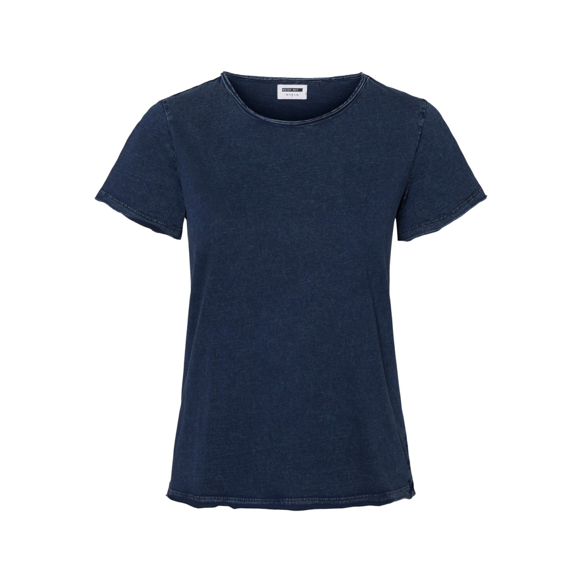 nmnaya nate s/s washed top color 27010085 noisy may t-shirt mood indigo