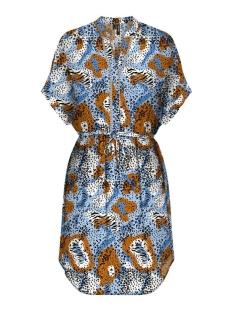 vmamsterdam s/s tunic vip 10218211 vero moda tuniek placid blue/madeliene