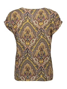 onlhanna s/s button top wvn 15205448 only blouse golden spice