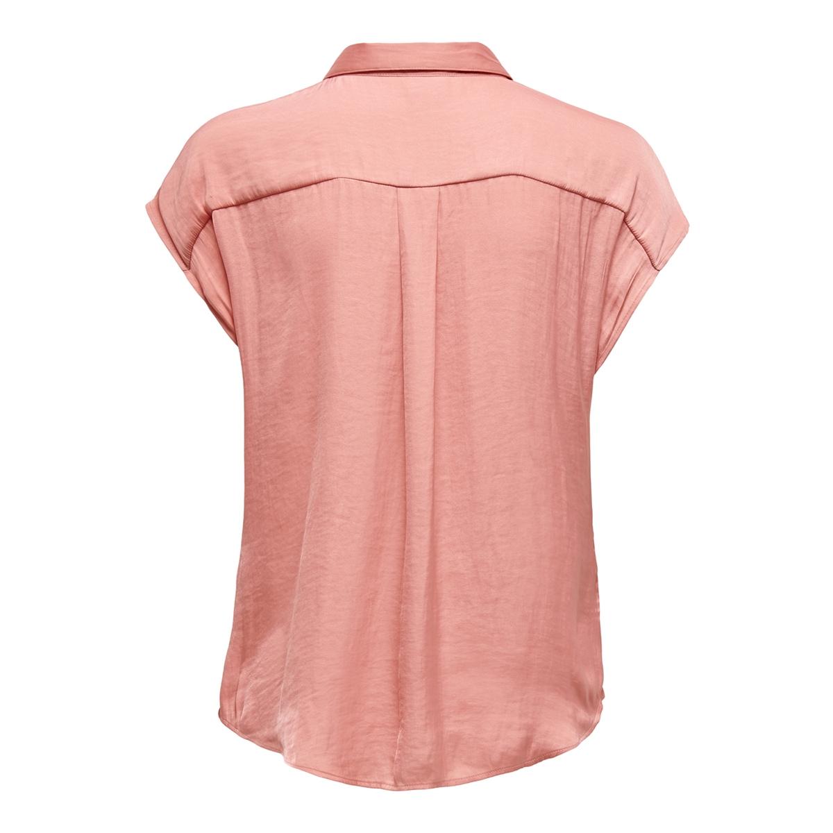 jdysheela s/s shirt wvn 15196788 jacqueline de yong blouse peach blossom