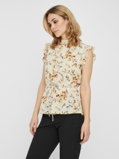 Vero Moda Top VMKISSEY SL HIGHNECK TOP WVN GA 10228342 Birch/KISSEY
