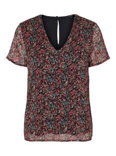 vmkay ss top wvn rpt 10232207 vero moda t-shirt black/janey