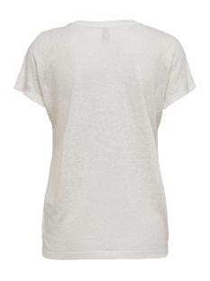 onlriley reg bat s/s top box jrs 15203475 only t-shirt cloud dancer/flora