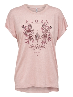 Only T-shirt ONLRILEY REG BAT S/S TOP BOX JRS 15203475 Lotus/FLORA