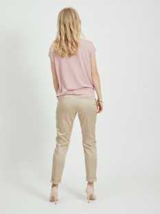 Vila Top VIATETSY WATERFALL S/S TOP/L 14059171 Pale Mauve