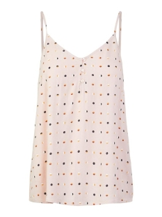 Pieces Top PCNYA SLIP TOP PB 17102734 Misty Rose/Half Moon