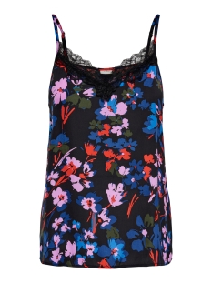 JDYAPPA TREATS LACE SINGLET WVN 15181111 Black/BLue Red A