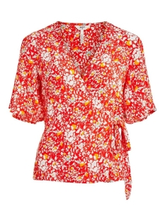 Object Blouse OBJBARB ALFI S/S TOP 108 DIV 23033462 Poinciana/FLOWER PRI