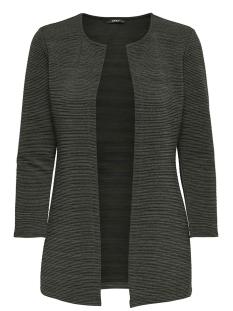 Only Vest onlLECO 7/8 LONG CARDIGAN JRS NOOS 15112273 Black Olive