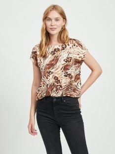 objemerson s/s top 110 23033586 object t-shirt sandshell/vild
