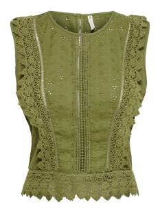 Only Top ONLLORETTA LIFE SL DNM TOP FF 15206328 Martini Olive