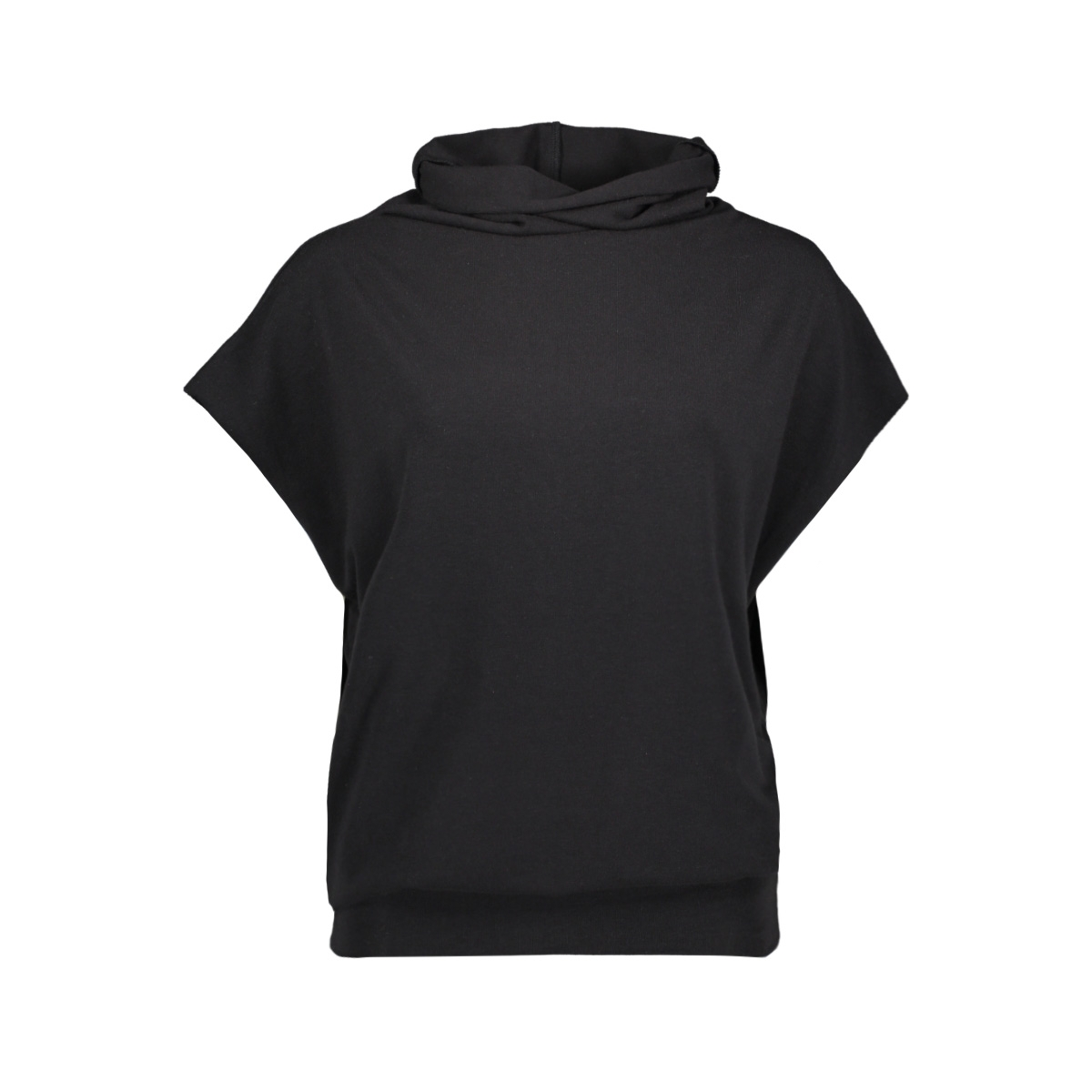 soft high neck top 20 464 0203 10 days t-shirt black