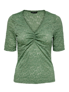 Only T-shirt ONYLENNI 2/4 V-NECK TOP JRS 15204978 Hedge Green