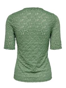 onylenni 2/4 v-neck top jrs 15204978 only t-shirt hedge green