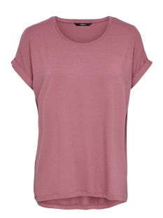 Only T-shirt onlMOSTER S/S O-NECK TOP NOOS JRS 15106662 Mesa Rose
