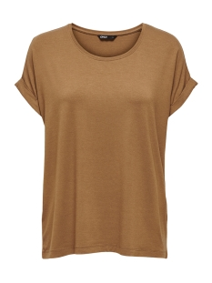 Only T-shirt onlMOSTER S/S O-NECK TOP NOOS JRS 15106662 Toasted Coconut