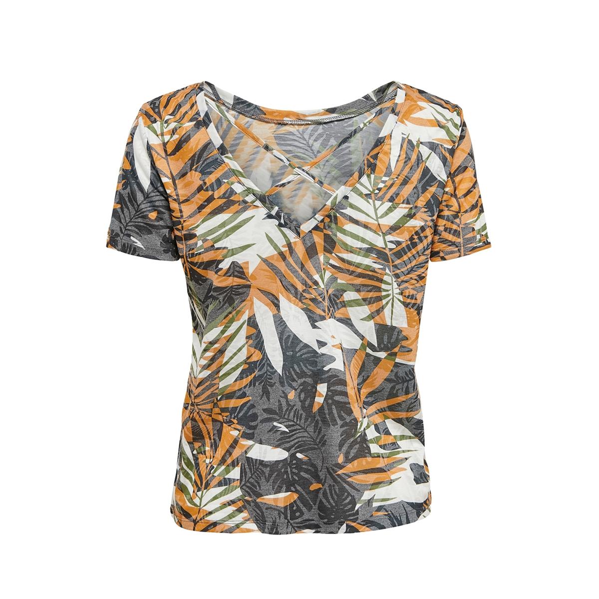 onlrilla s/s o-neck print top box j 15210386 only t-shirt cloud dancer/graphic