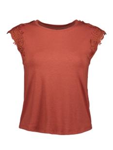Only T-shirt ONLALEXA S/L TOP JRS 15204315 Burnt Henna