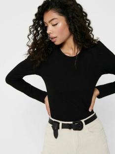 Only T-shirt ONLEMMA L/S PUFF TOP JRS 15222328 Black