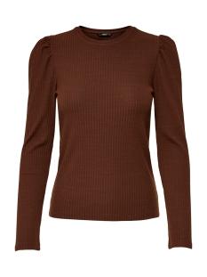 Only T-shirt ONLEMMA L/S PUFF TOP JRS 15222328 Cherry Mahogany