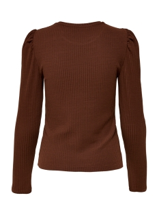 onlemma l/s puff top jrs 15222328 only t-shirt cherry mahogany
