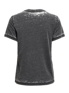onlretro life reg s/s wash top box 15210873 only t-shirt black
