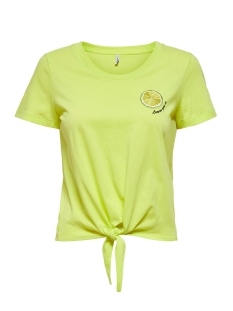 Only T-shirt ONLFRUITY LIFE S/S TOP BOX JRS 15206148 Sunny Lime/LIME