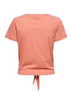 onlfruity life s/s top box jrs 15206148 only t-shirt terra cotta/peach