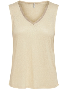Only Top ONLRILEY S/L TOP JRS 15208353 Macadamia