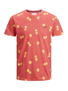 jorrazz ss tee sh 12175687 jack & jones t-shirt chrysanthemum/reg