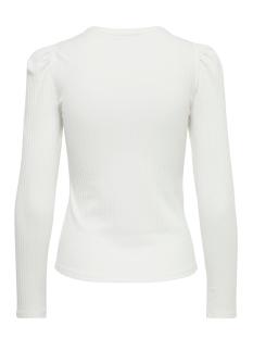 onlemma l/s puff top jrs 15222328 only t-shirt cloud dancer