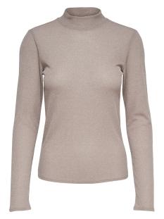 Only T-shirt ONLDIANA  LUREX L/S TOP JRS NOOS 15180844 Rose Smoke