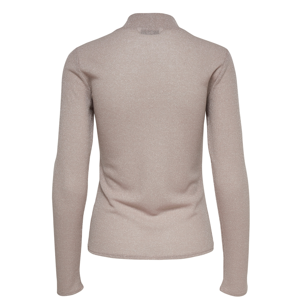 onldiana  lurex l/s top jrs noos 15180844 only t-shirt rose smoke
